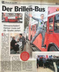 Original London Bus - Brillen Bus - Optik Högl München-Neuhausen